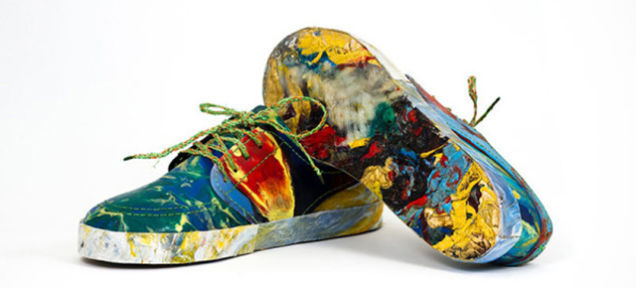 Recycled Rubbish Sneakers