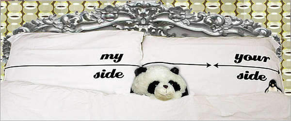Your Side My Side Pillowcases