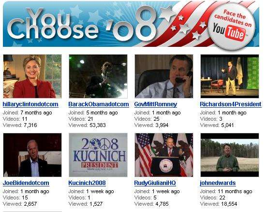 YouTube Gets Presidential