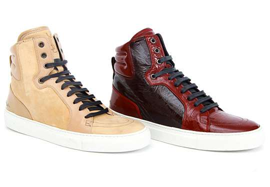 Licorice-Inspired Kicks