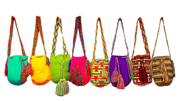 Multi-Colored Eco Sacs