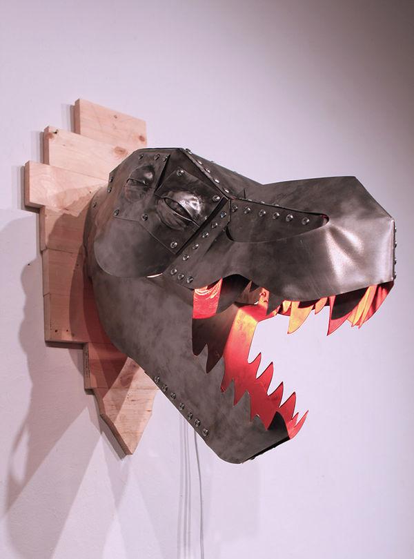 Metallic Tyrannosaurus Taxidermy