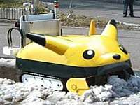 Snowplow Robot