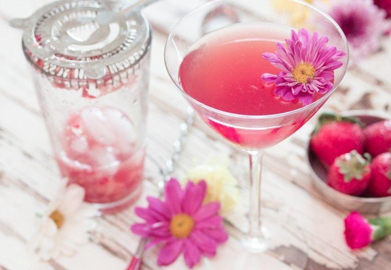 Floral Wine Cocktails