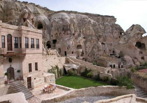 Cavernous Luxury Resorts