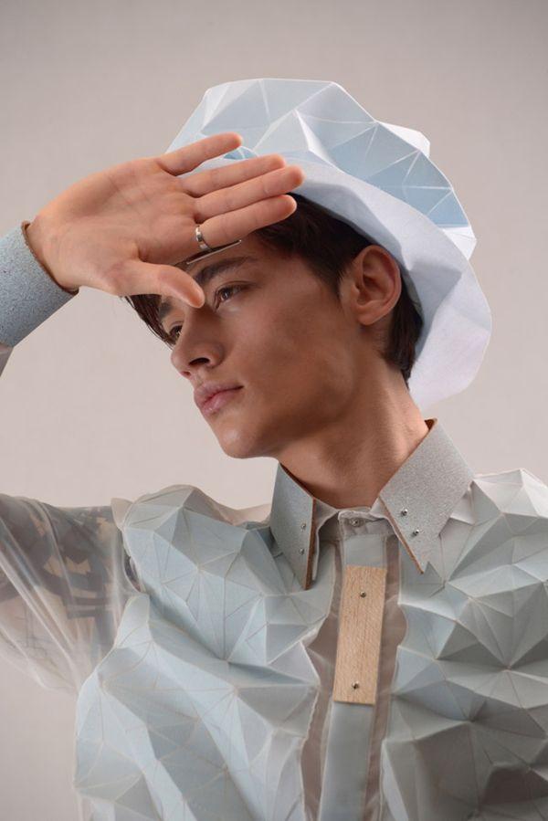 Dimensional Origami Fashions