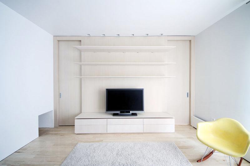 Minimalist White-Washed Apartments