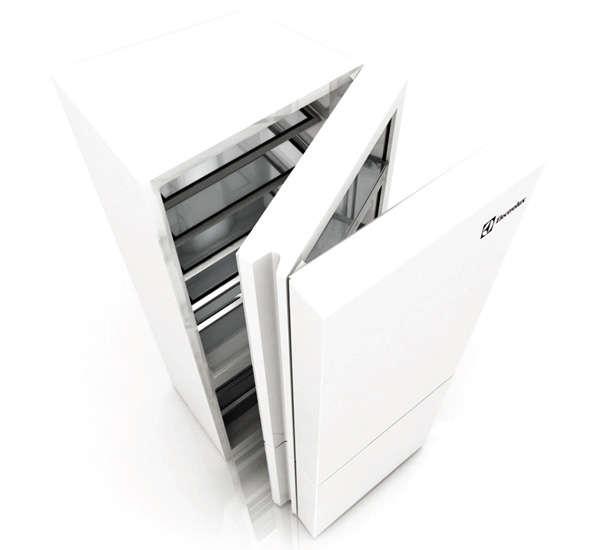 Deceptive Folding Refrigerators