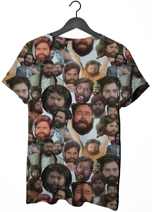Collaged Comedian Shirts