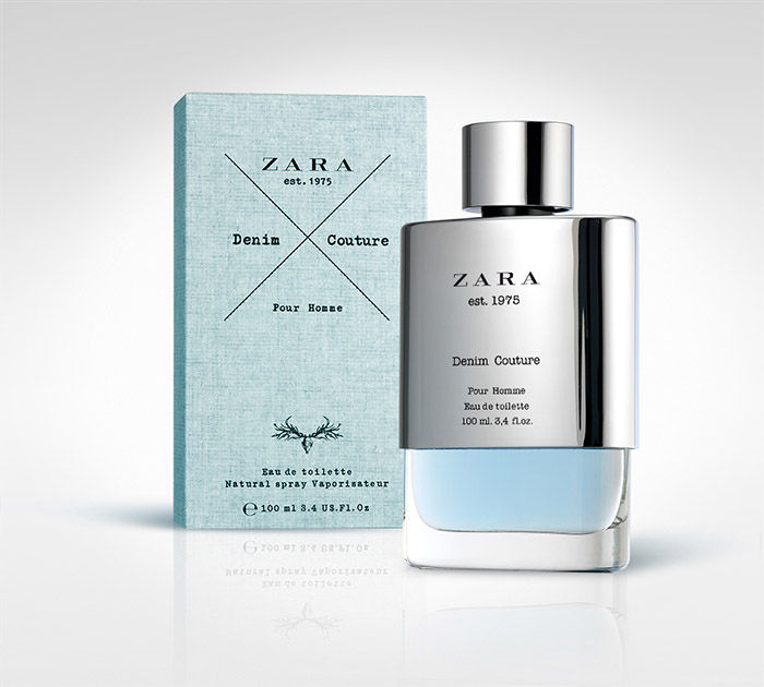 Denim-Like Perfume Packaging