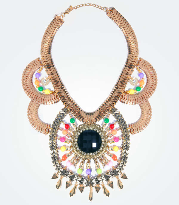 Zaria Goddess Necklace
