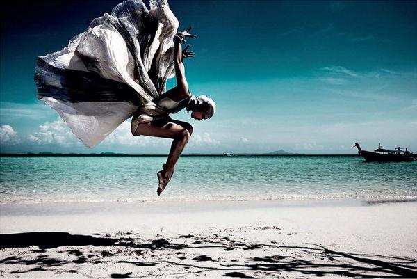 Beachside Ballerina Captures