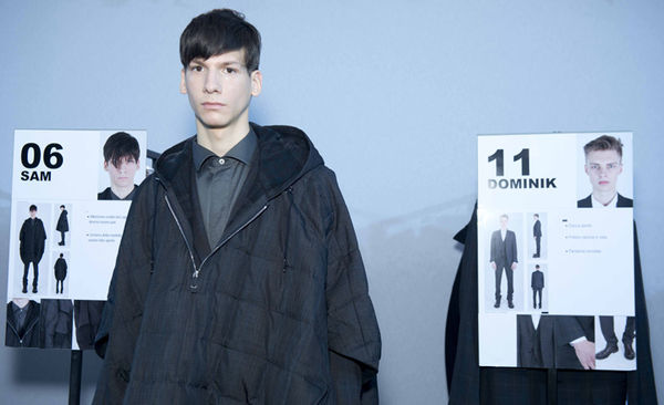 Micro-Structured Menswear Collections