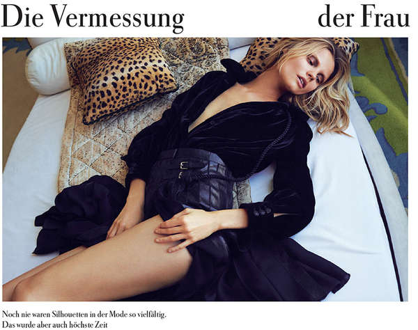 Zeit Magazine 'Die Vermessung Der Frau'