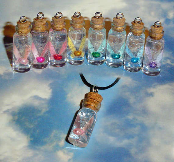 Zelda Bottled Fairy Charm Necklace