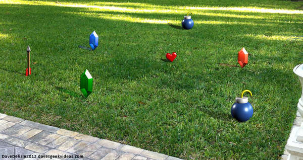 Gamer Garden Decorations
