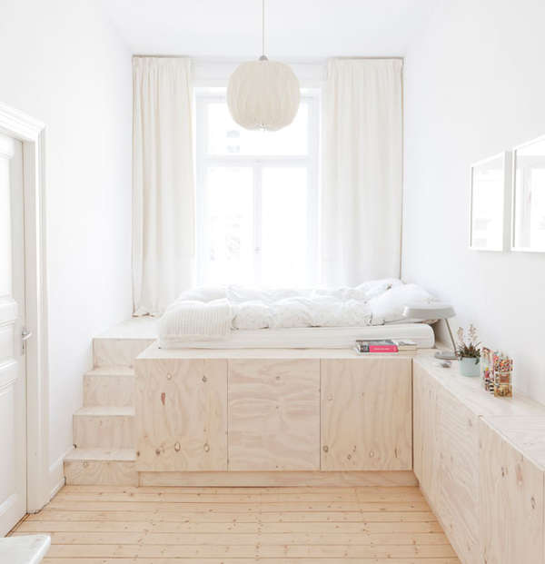 Peaceful Minimalist Living Spaces