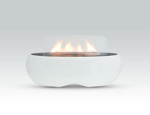 Sleek Sci-Fi Fireplaces