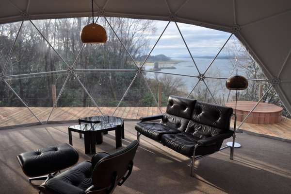 Mobile Dome Hotels Removable Non Residue Boutique Retreat