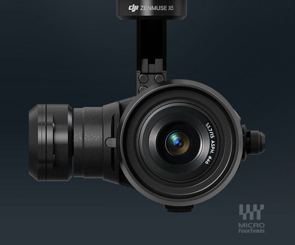 Mirrorless Aerial Cameras