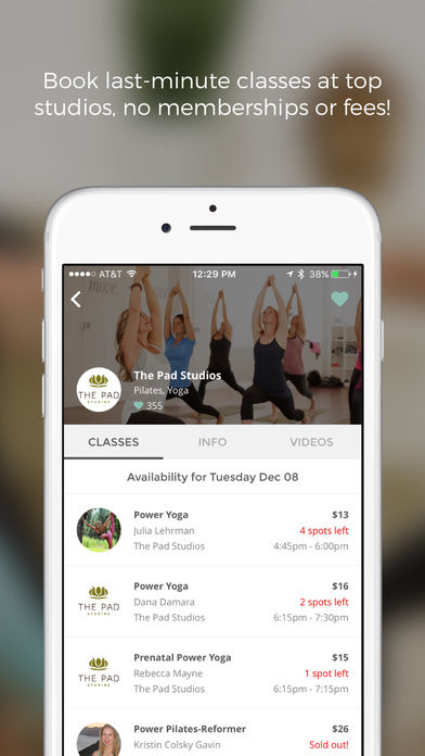 Flexible Fitness Apps