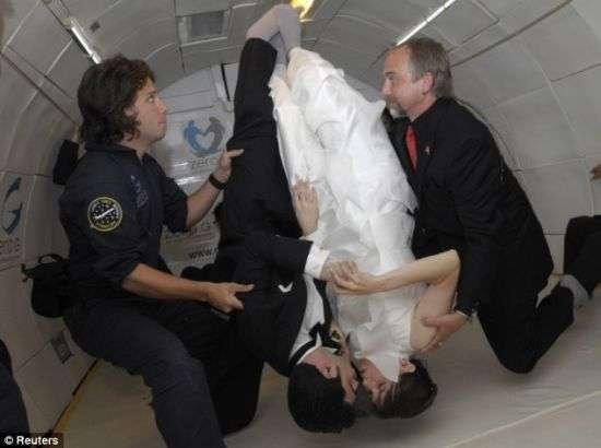 Zero Gravity Wedding Photos