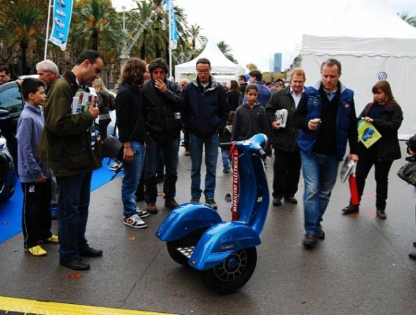 Vespa-Inspired Segways
