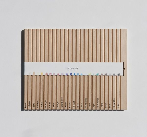 Snap-Apart Pencil Packaging