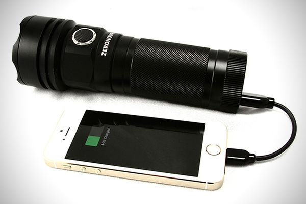 Sleek USB Flashlights