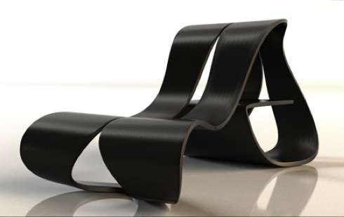Black Loopy Loungers