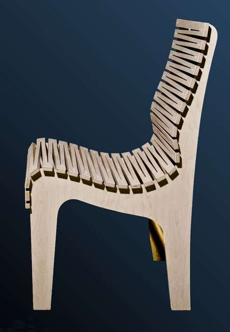 Cutout Serrated Seating
