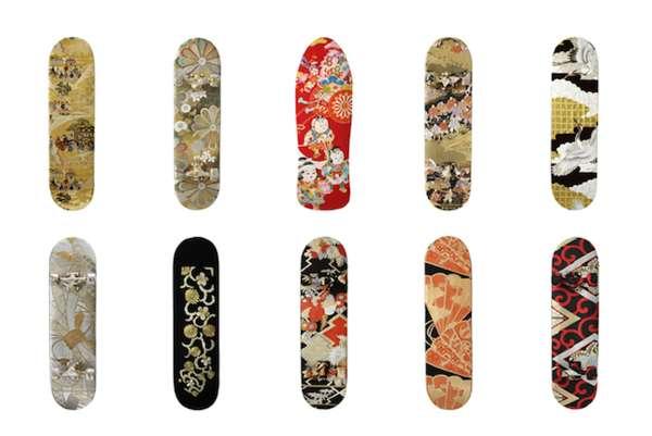 Kimono Skate Decks