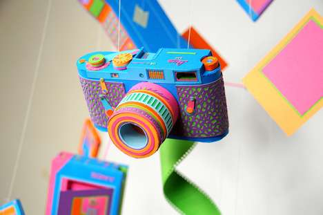 Neon Throwback Papercrafts