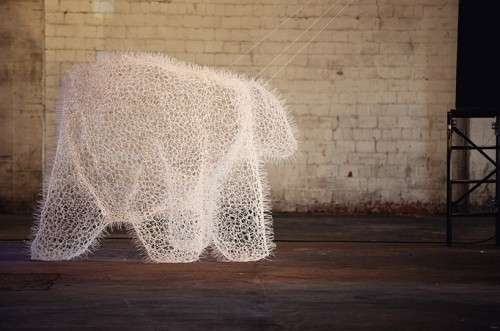 Cable Tie Sculptures