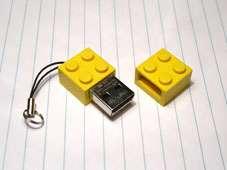 Zip Zip LEGO USB Memory Stick