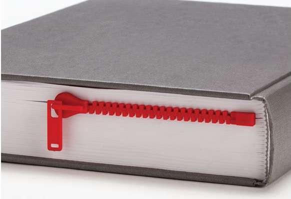 Zippered Page Savers