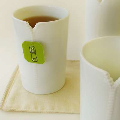 Zipped-Up Jacket Mugs