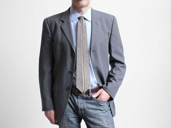 Zip-Up Neckties