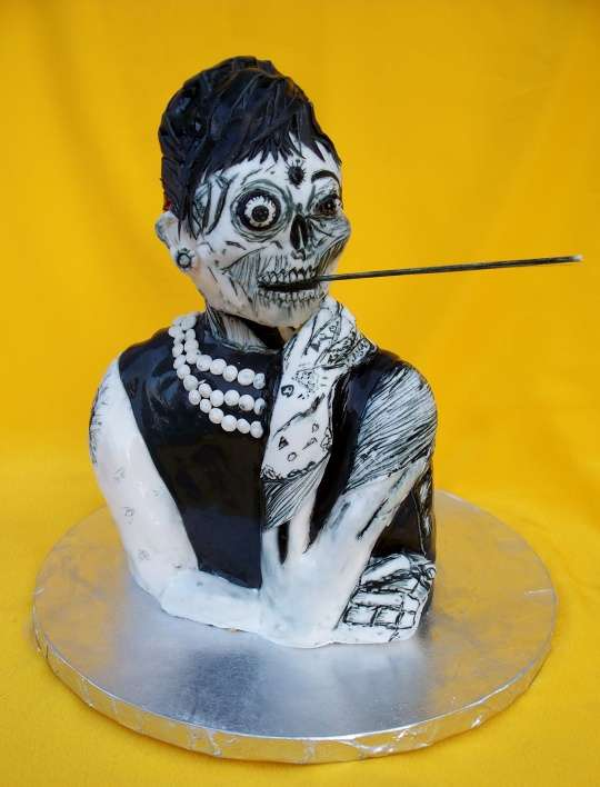 Zombie at Tiffanys Cake