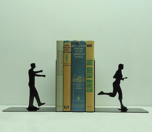 Undead Chase Bookends