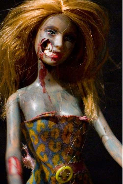 Recycled Zombie Dolls