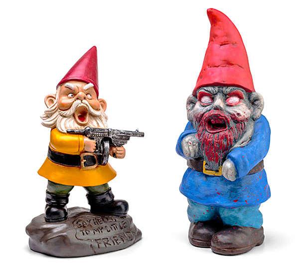 Grotesque Zombie Gnomes