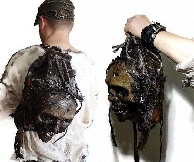 Zombie Head Backpacks Zombie Head