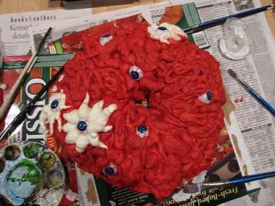 Zombie Intestine Wreaths