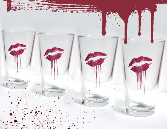 Zombie Love Glass
