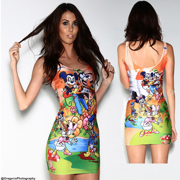 Zombified Disney Dresses