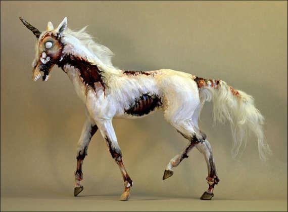 Undead Unicorn Artwork