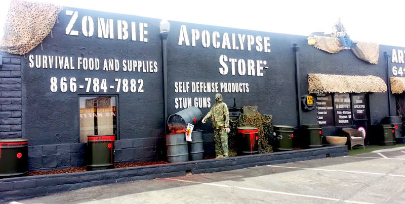 Zombie Supply Stores