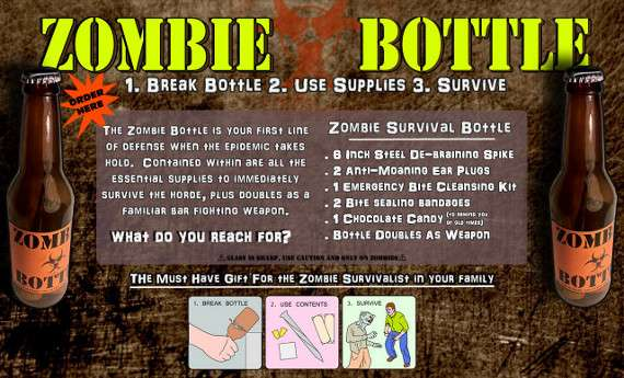 Zombie Survival Bottle