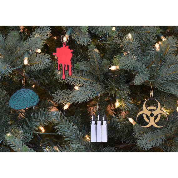 Subtle Undead Ornaments